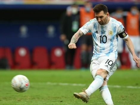 La formación de Argentina para ir a por la gloria ante Brasil