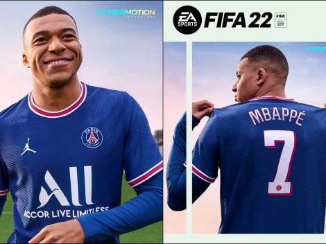 Así será la portada del FIFA 22 con Kylian Mbappé