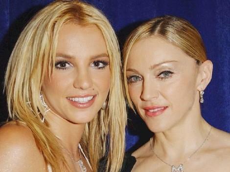 Madonna le entrega su apoyo total a Britney Spears