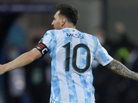 """Scaloni: """"Gane o pierda, Messi seguirá siendo el mejor"""""""