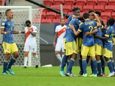 ¡Agónico! Colombia y Rueda se quedan con el tercer lugar