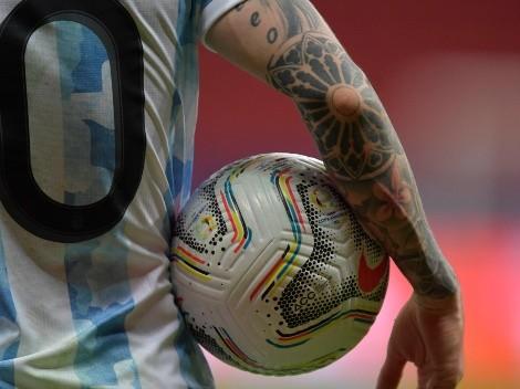Messi+10: oncena titular argentina en el Maracaná