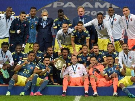 Rueda está feliz por el tercer lugar de Colombia en Copa América