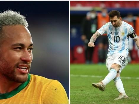 El favorito para Brasil vs Argentina en la final de Copa América