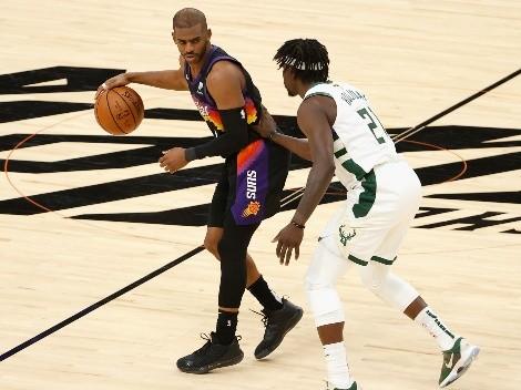 Horario: Los Bucks buscan su primer triunfo ante los Suns en la final de la NBA