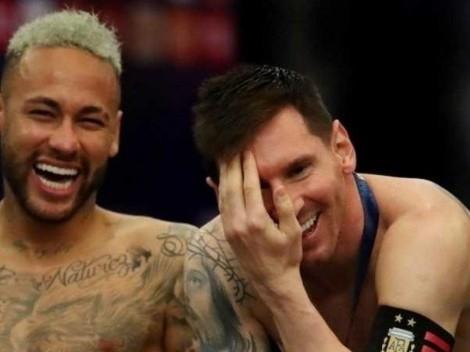 ¿Qué se dijeron? Paredes da detalles de la charla de Messi y Neymar