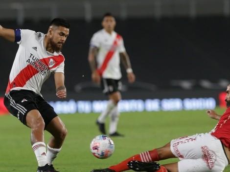 River de Díaz y Argentinos Jrs se miden por octavos de Copa Libertadores