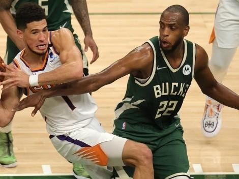 ¿Cuándo y a qué hora juega Milwaukee Bucks vs Phoenix Suns la final de la NBA?