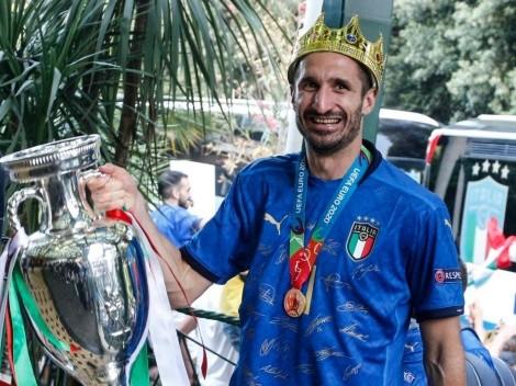 Increíble: Chiellini está sin club y aún no tiene ofertas