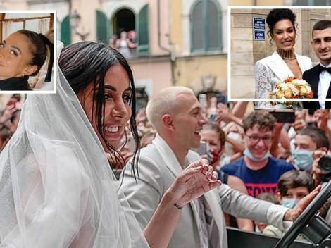 Se casan tras ganar la Euro: Bernardeschi con show en la calle