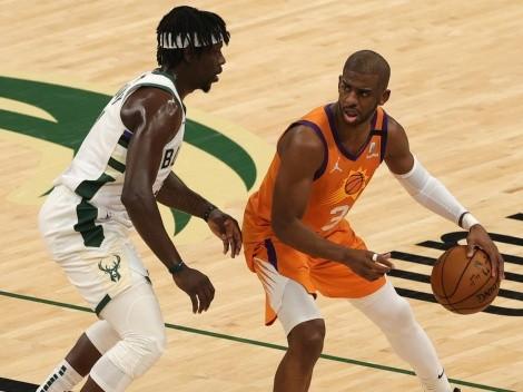 ¿Cuándo y a qué hora juegan los Suns vs los Bucks la 5° final de la NBA?