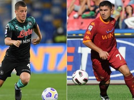 """En Napoli alucinan: """"Diego Demme vale el David Pizarro de la Roma"""""""