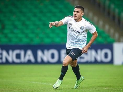 Tremendo: Pinares entró en el minuto 85 y le dio la victoria a Gremio