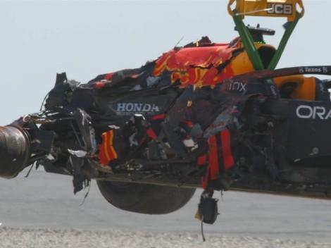 Verstappen y Hamilton colisionan en el GP de Gran Bretaña