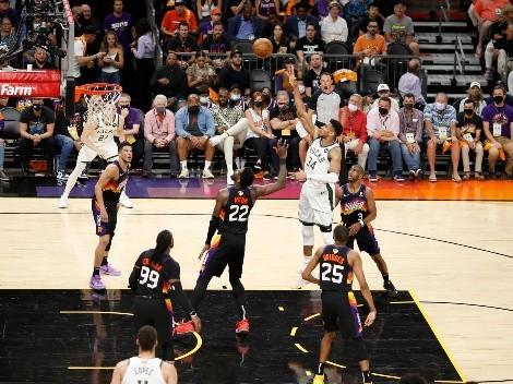 Con Antetokounmpo como figura, los Bucks remontan ante los Suns