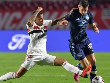 Racing y Sao Paulo buscarán avanzar a cuartos de Copa Libertadores
