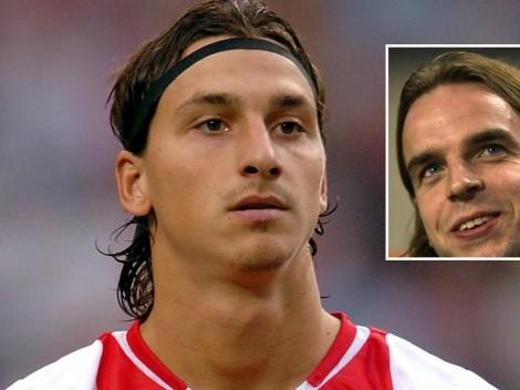 """""""Una vez le di un beso en la boca a Zlatan cuando estaba durmiendo"""""""