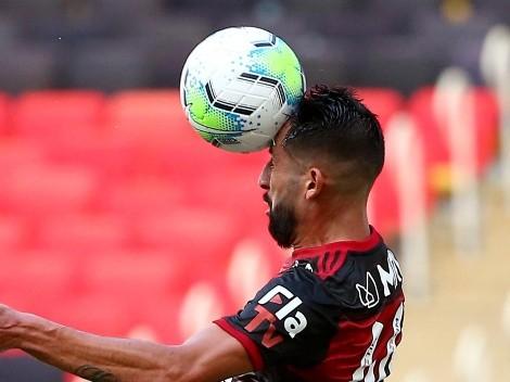 """Flamengo le hizo la """"manita"""" al Bahía con Isla de titular"""