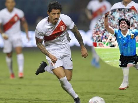 Peruanos le dedican canción de Maradona a Gianluca Lapadula