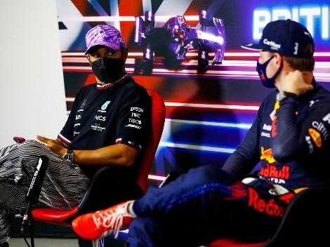 Hamilton culpa a Verstappen por el choque en el GP de Gran Bretaña