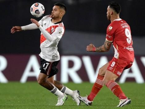 Díaz asoma como titular en River Plate para la vuelta ante Argentinos