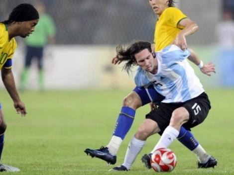 """Dinho y la Copa América de Messi: """"Feliz por mi amigo"""""""