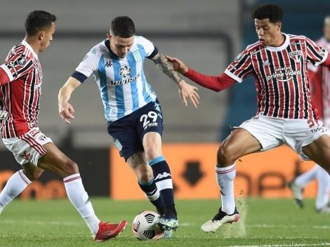 Arias y Mena se quedan tras dura derrota ante Sao Paulo