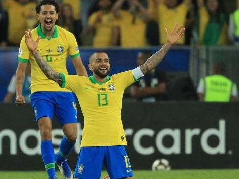 """Dani Alves antes del debut de Brasil """"Soy como Benjamin Button"""""""