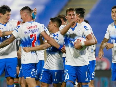 Formación de la UC para dar el golpe ante Palmeiras