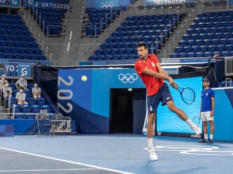 Novak Djokovic inicia su sueño olímpico ante un boliviano