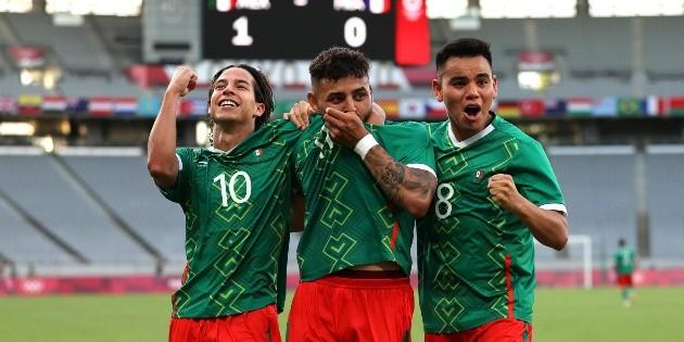 México vs Francia   México da el golpe y supera con una goleada histórica a Francia en Tokio 2020   RedGol