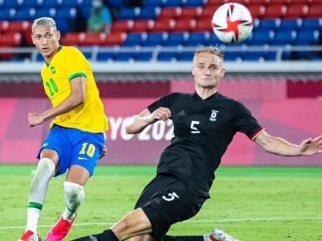 Debut, triunfo y goleada de Brasil ante Alemania en Tokio 2020