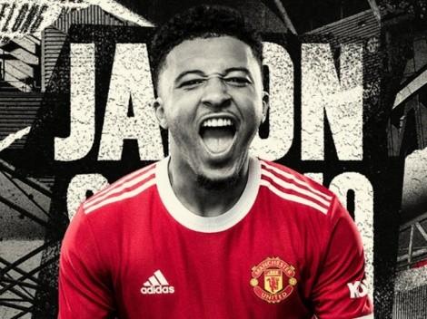Oficial: United rompe el mercado y anuncia a Jadon Sancho