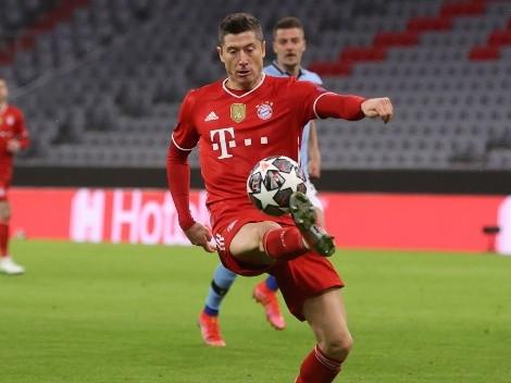 Lewy es premiado como mejor jugador del año en Alemania
