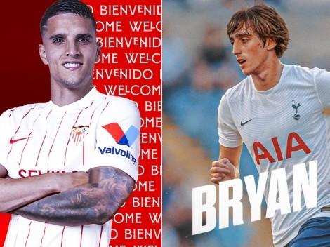 Oficial: Tottenham y Sevilla intercambian a Erik Lamela y Bryan Gil