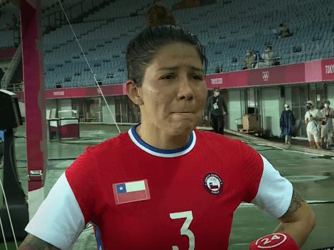 Emotivas palabras y llanto de la Jefa tras la eliminación de Chile