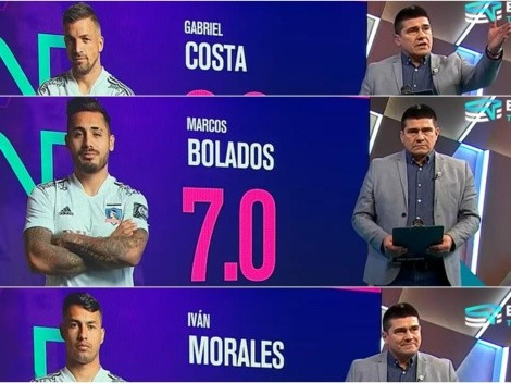 Toby Vega alucina con Bolados: nota 7,0 contra Wanderers