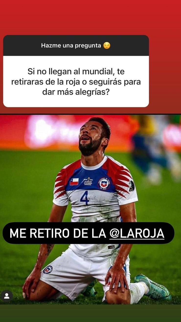 Mauricio Isla, defensor de la selección chilena de fútbol