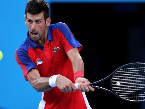 """Djokovic pide perdón por no """"ganar una medalla"""" en Tokio 2020"""