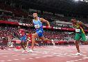 Jacobs tomó el lugar de Bolt como el hombre más rápido del mundo