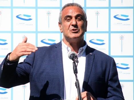 Pablo Milad anuncia intercambio de árbitros con Brasil