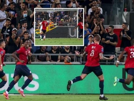 Con golazo de Xeca, Lille vence al PSG y grita otra vez campeón