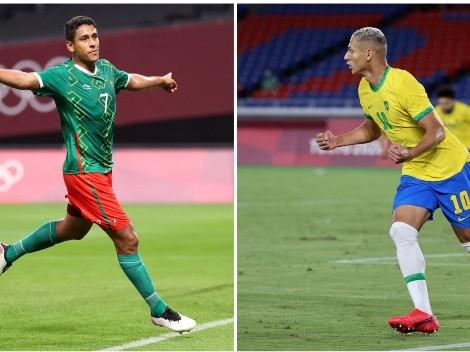 ¿Cuándo juegan México y Brasil en Tokio 2020?