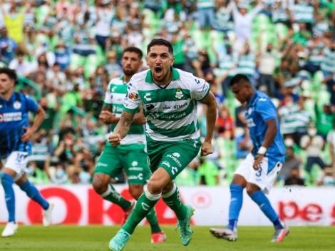 No titubeó: gol de Diego Valdés desde los doce pasos