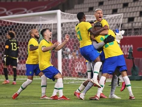 Brasil se hace fuerte en los penales y le gana a México