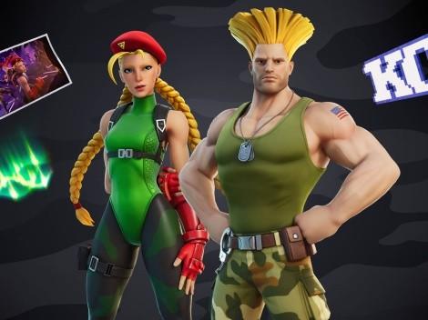 Guile y Cammy de Street Fighter llegan a Fortnite