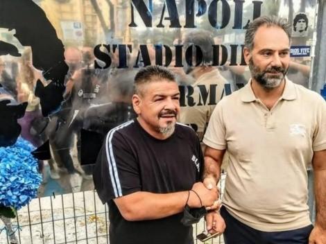 Hermano de Maradona anuncia candidatura en municipales de Napoli