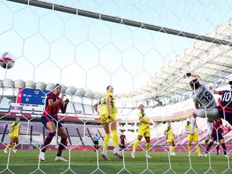 Ídem: el golazo olímpico de Megan Rapinoe en Tokio 2020