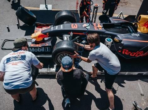Red Bull trae a Chile simulador de Pit Stop de F1