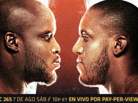 Cartelera y dónde ver a Lewis vs Gane y al chileno Luque en el evento UFC 265